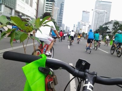 Jalan MH Thamrin, Jakarta. Erik Purnama Putra