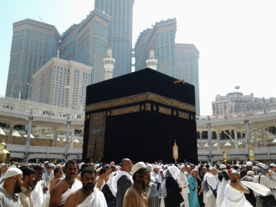 Kabah di Masjidil Haram, Senin (3/3).